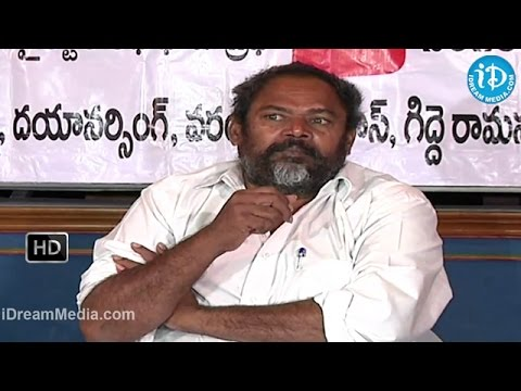 Rajyadhikaram Telugu Movie - Release Press Meet - R Narayana Murthy