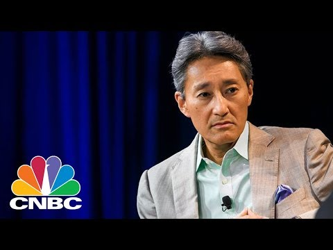 , title : 'Sony CEO Kazuo Hirai Introduces New Products At CES 2018 | CNBC'