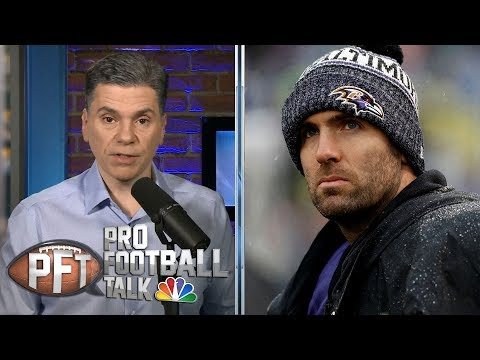 Video: Baltimore Ravens trade Joe Flacco to Denver Broncos | Pro Football Talk | NBC Sports