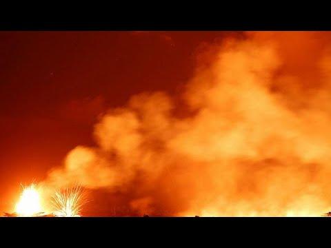 Χαβάη: Συνεχίζονται οι εκρήξεις στο ηφαίστειο Κιλαουέα…