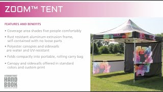 Zoom Tent