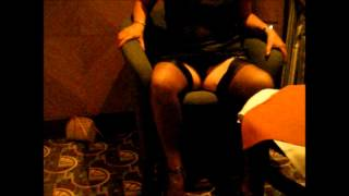 Showing Off In My Ff Nylons