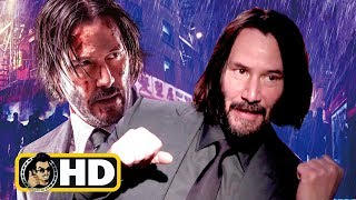 Keanu Reeves Exclusive JOHN WICK 3 Interview (2019) by JoBlo Movie Trailers