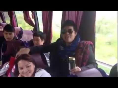 Quang Lê, Trường Giang, Hoài Lâm hài hước trên ô tô (phần 2)