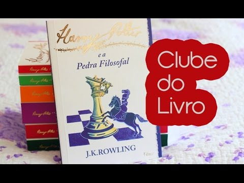 Clube do livro: Harry Potter e a Pedra Filosofal | Steh Barbosa