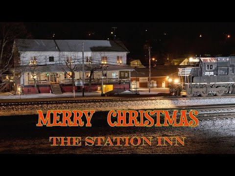 Winter at The Station Inn
