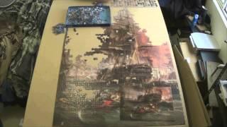 El bombardeo de Argelia-Bombardment of Algiers-Ravensburger-9000  piezas-Timelapse