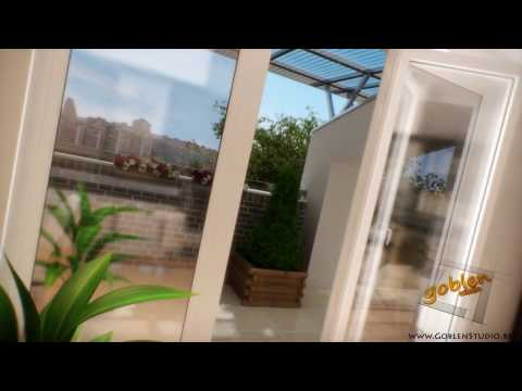 interior 3d animation - Architectural 3d modeling and photorealistic interior rendering done with 3ds Max and Vray. Short animation of little and not expensive flat with modern and ...