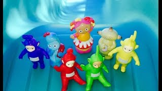 TELETUBBIES and IN THE NIGHT GARDEN Toy Slide!