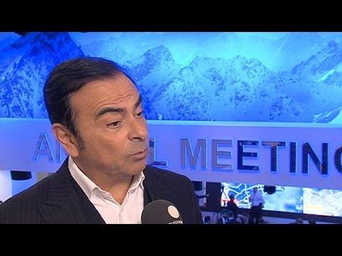 Νταβός: Ο πρόεδρος της Nissan-Renault μιλά στο euronews – davos