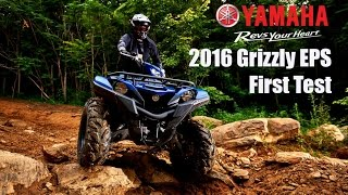 4. 2016 Yamaha Grizzly 700 EPS First Test