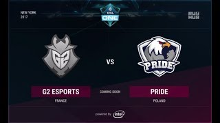 G2 vs PRIDE, game 1