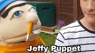 SMK REAL JEFFY PUPPET UNBOXING. SML