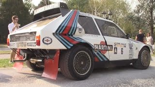 800 HP Lancia Delta S4  IN DEPTH Tour and PURE Sound