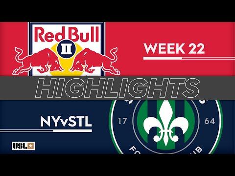 Нью-Йорк Ред Буллз-2 - Saint Louis FC 2:0. Видеообзор матча 03.08.2019. Видео голов и опасных моментов игры