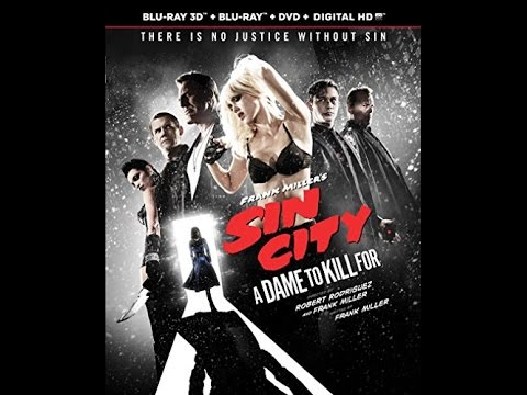 Sin City A Dame To Kill For Blu Ray Unboxing