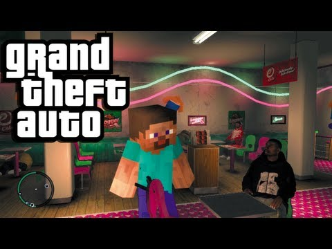 GTA - Minecraft Mods Episode 2: http://bit.ly/12jLW5l Batman and Joker in GTA: http://bit.ly/12XO59U Follow me on Twitter! https://twitter.com/NobodyEpic Like me o...