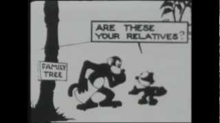 Felix The Cat - 1924 - Doubles For Darwin