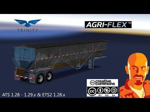TRINITY AGRI-FLEX TRAILER ETS2 1.31.x