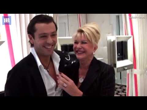 Ivana and Rossano Rubicondi announce their engagement in 2007