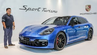 FIRST LOOK: Porsche Panamera Sport Turismo in Malaysia - Turbo V8 with 550 PS