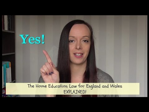 The Home Education Law in England and Wales (видео)