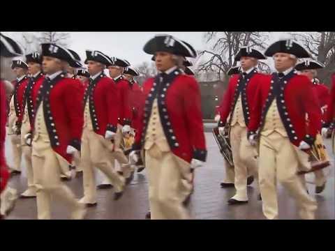 Дональд Трамп принял свой первый парад в качестве президента США (видео)