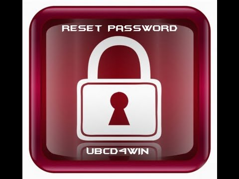 Reset Your Forgotten Windows 7 Password with UBCD4WIN by Britec