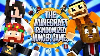 The Minecraft Randomized Hunger Games! #11 - Minecraft Modded Minigames | JeromeASF