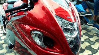 7. 2016 Hayabusa GSX1300R ABS Hard Accelerations | Short Ride | Scorpion Exhaust