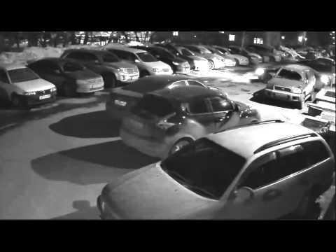 Ночное видео с камеры CTV HDB361A SE AHD 1Mp