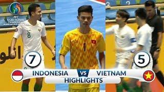 Video DEG DEGAN! HIGHLIGHTS INDONESIA VS VIETNAM (FT: 7-5)  -  AFC U20 Futsal Championship 2019 MP3, 3GP, MP4, WEBM, AVI, FLV Juni 2019