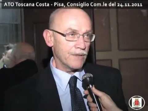 Franco Borchi ATO Toscana Costa - Pisa, Consiglio Comunale del 24 novembre 2011