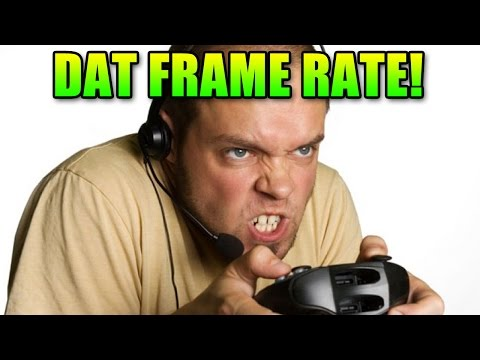 30fps - For More Gaming Tips and Tricks, Subscribe ▻ http://bit.ly/1lumAKr Frame Rate Comparison: https://frames-per-second.appspot.com/ OriginPC: http://originPC.com My Computer Hardware: http://www.l...