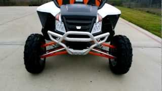 4. Overview and Reveiw: 2013 Arctic Cat Wildcat 1000 Limited White Metallic