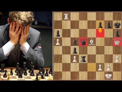 Svidler's Deadly Trap | Svidler Vs Carlsen | Candidates Tournament 2013. | Round 6