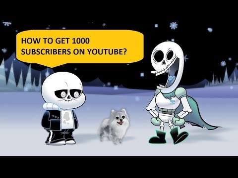 如何吸引youtube頻道訂閱,令訂閱人數超過1000?