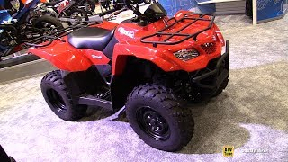 10. 2017 Suzuki King Quad 400 AXi 4x4 Recreational ATV - Walkaround - 2016 AIMExpo Orlando