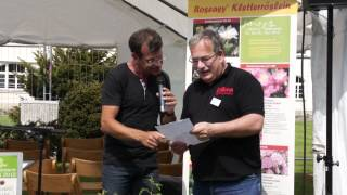 #626 Gartentage Lindau 2012 - Die Rosentaufe der Roseasy Kletterröslein