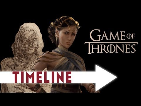 Entire Game of Thrones TIMELINE  (12,000 year History)