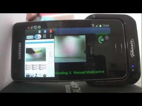 Video of MobileWebCam