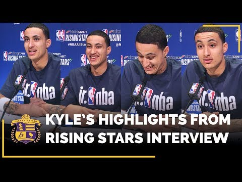 Video: Kyle Kuzma Highlights From Rising Stars Media Interview