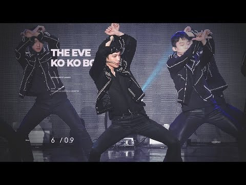 171115 Asia Artist Awards - 전야 (the Eve) + Ko Ko Bop Kai