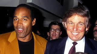 The current president and O.J. Simpson were once buddies.  Back in the day, Donald Trump and Simpson hung out together, once in 1993 at a chic Manhattan night spot. Ivanka Trump, 12 years old at the time, was there with her father. Simpson was there with his wife, Nicole. Later that year, Simpson was a guest at Trump's lavish second wedding to Marla Maples. No surprise, Trump's friendship with Simpson soured, but in 2008 he told Howard Stern he wanted to cast Simpson in the ninth season of Celebrity Apprentice.