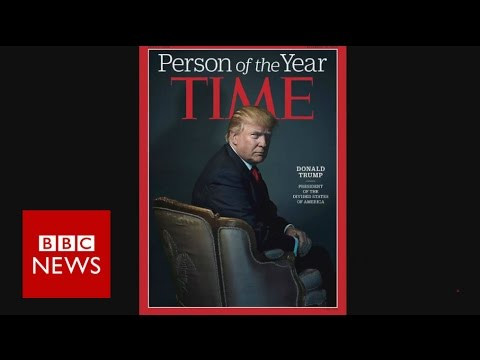 Time magazine s Person of the Year: Donald Trump & previous winners - BBC News