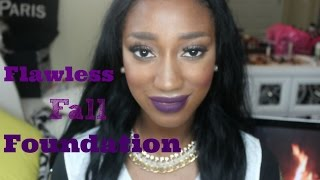 Flawless Fall Foundation Routine | Collab w SincerlyBarbz
