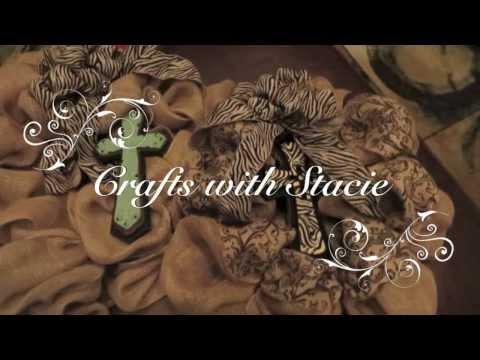 Easy to Make Burlap Wreaths