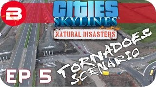 Cities Skylines Natural Disasters Gameplay - TRASH TALK (Hard Scenario) #5