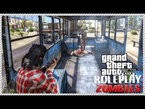 GTA 5 ROLEPLAY ZOMBIES - How Not To Make New Friends | Ep. 1 Survivor