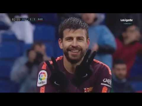 Barcelona Vs Espanyol  1 1   Extended Match Highlights   La Liga 04 02 2018